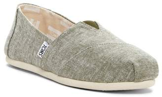 Toms Classic Alpargata Chambray Slip-On Shoe