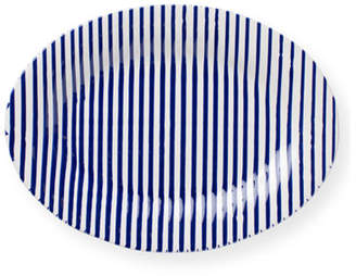 Vietri Stripe Medium Oval Platter