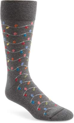 Nordstrom Holiday Christmas Lights Socks