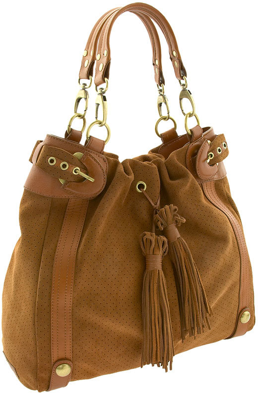Hype 'Rimini' Soft Suede Bucket Bag