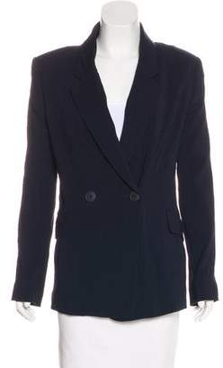 Theyskens' Theory Lightweight Wool-Blend Blazer