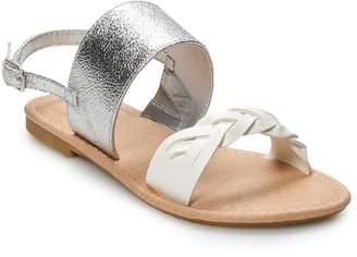 So SO Hedgehog Girls' Sandals