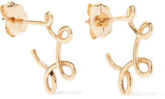 Sebastian SARAH & Whirl 9-karat Gold Hoop Earrings