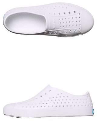 Native New Girls Kids Jefferson Shoe Rubber White