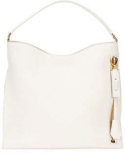 Tom Ford Alix Small Calfskin Hobo Bag
