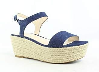 Nine West Women's Flownder Denim Wedge Sandal