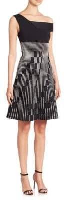 Roland Mouret Richards One-Shoulder Dress