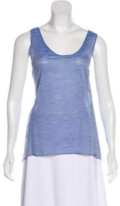Waverly Grey Sleeveless Lightweight Top