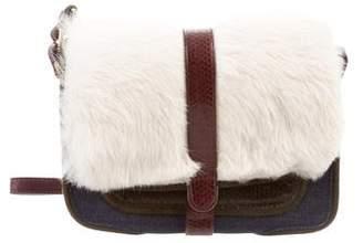 Jerome Dreyfuss Fur-Trimmed Jojo Bag