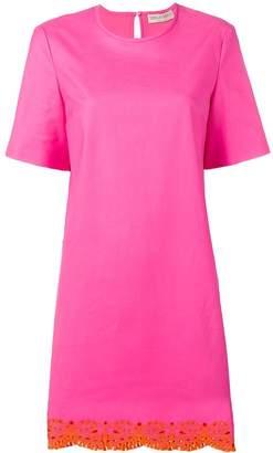 Emilio Pucci Sangallo Embroidered Shift Dress