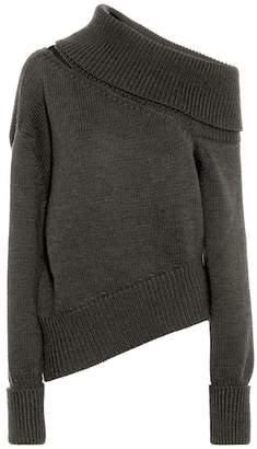 Monse Cut-out wool sweater
