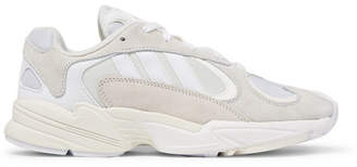 adidas Yung 1 Suede And Mesh Sneakers