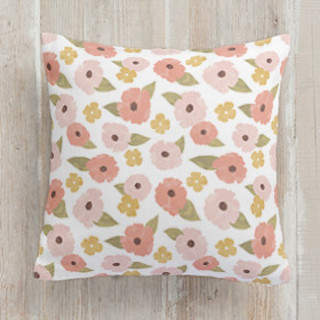 Fine Florals Square Pillow