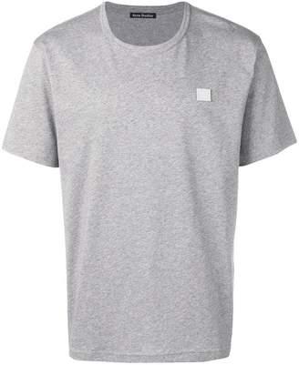 Acne Studios nash face t-shirt light grey