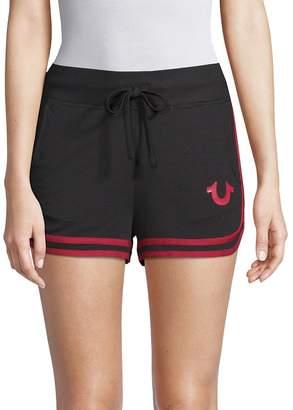 True Religion Women's Go-To Dolphin Shorts