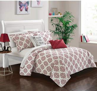 Chic Home Jaden 5 Piece Full Quilt Set Bedding