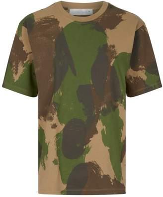 Victoria Beckham Camouflage T-Shirt