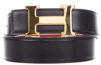 Hermes Reversible H 32mm Belt Kit