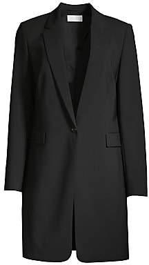 BOSS Women's Janufana Stretch Wool Longline Jacket