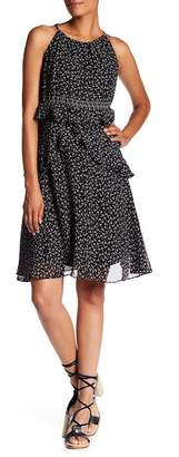Max Studio Floral Georgette Dress