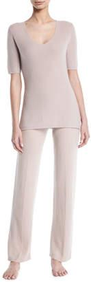 Neiman Marcus Basic Cashmere Lounge Pants