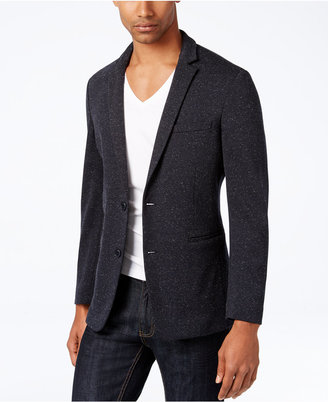 INC International Concepts Men's Slim-Fit Speckled Blazer, Only at Macy's $129.50 thestylecure.com