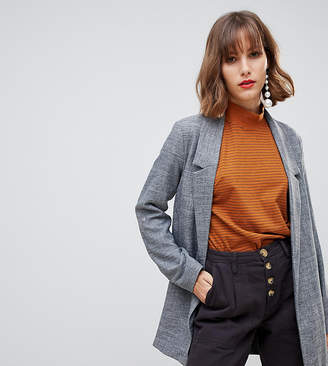 Stradivarius edge to edge turn up sleeve blazer