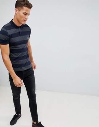 French Connection Two Stripe Polo Shirt