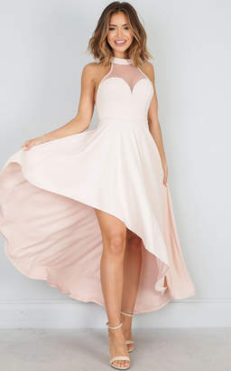 Showpo Beautiful Thing dress in blush