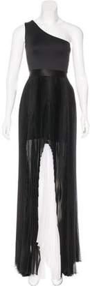 Alexis Silk Pleated Dress w/ Tags