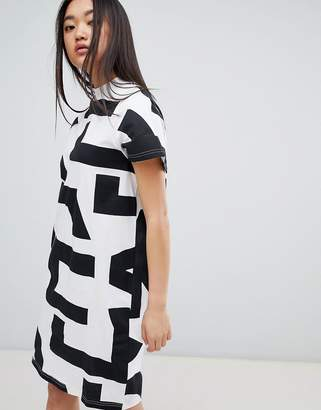 Cheap Monday Mega Text Smash Dress