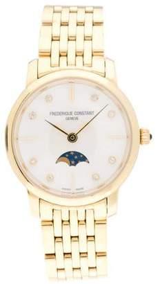 Frederique Constant Slimline Moonphase Watch