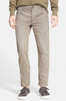 Men's Rag & Bone Standard Issue Fit 2 Slim Fit Five-Pocket Pants $195 thestylecure.com