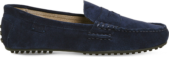Polo Ralph Lauren Polo Ralph Lauren Wes slip-on suede loafers