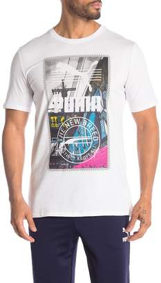 Puma Alley Logo Graphic Tee