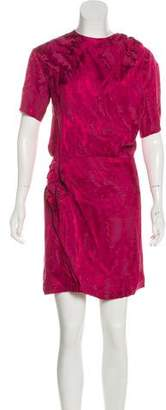 Isabel Marant Satin Brocade Dress
