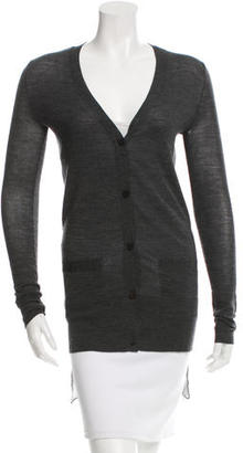 Vera Wang Wool Silk-Accented Cardigan $75 thestylecure.com