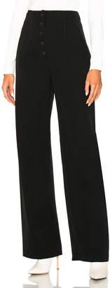 Stella McCartney Fabienne Wool High Waisted Trousers