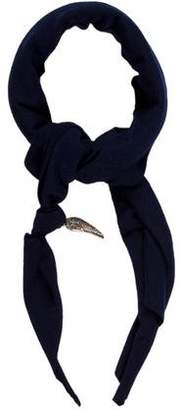 Donni Charm Embellished Knit Scarf
