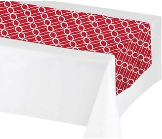 Creative Converting Classic Red Table Runner, each