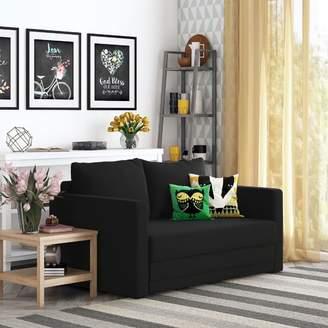 Ebern Designs Campanelli Sleeper Loveseat