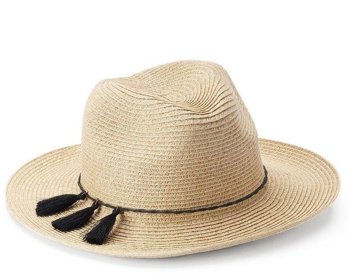 SONOMA Goods for LifeTM Tassel Panama Hat