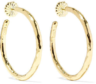 Ippolita Classico 18-karat Gold Hoop Earrings
