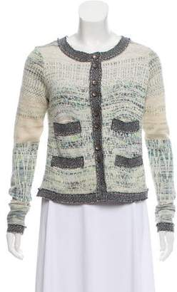 Free People Textured Knit Collarless Cardigan w/ Tags
