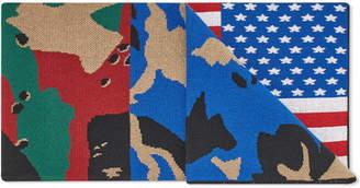 Gosha Rubchinskiy Flag Scarf
