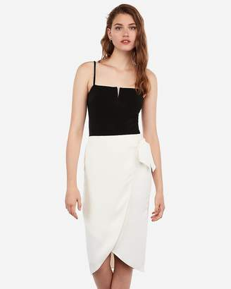 Express Cropped V-Wire Cami