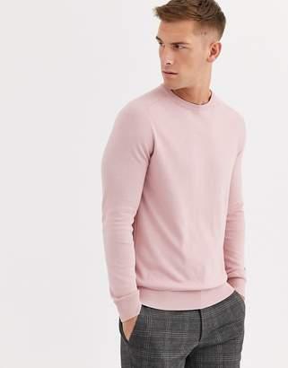 Ben Sherman core cotton knitted crew neck jumper