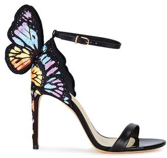 Sophia Webster Chiara Winged Leather Sandals