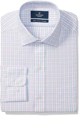 Buttoned Down Men's Classic Fit Spread Collar Pattern Shirt