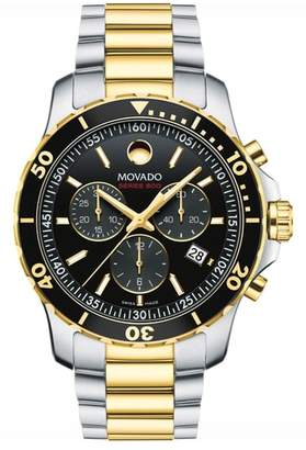 Movado 'Series 800' Chronograph Bracelet Watch, 42mm